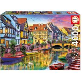 Educa - Puzzle Kanał Colmar Francja 4000 el. 17134