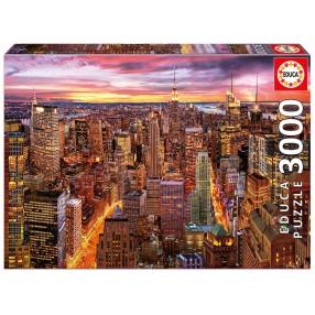 Educa - Puzzle Horyzont nad Manhattanem 3000 el. 17131
