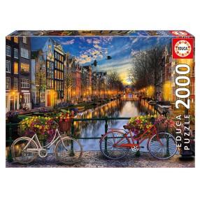 Educa - Puzzle Amsterdam z miłością 2000 el. 17127