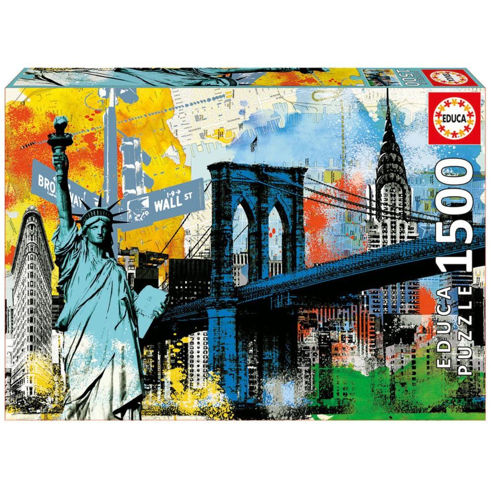 Educa - Puzzle Miejska wolność 1500 el. 17120