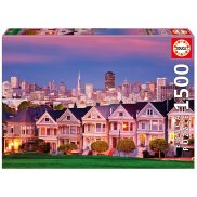 Educa - Puzzle Painted Ladies San Francisco 1500 el. 17119