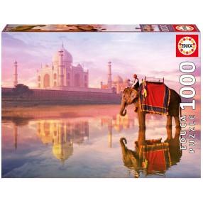 Educa - Puzzle Słoń w Taj Mahal 1000 el. 16756