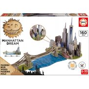 Educa - Puzzle 3D Manhattan 17000