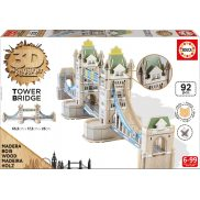 Educa - Puzzle 3D Monument Tower Brigde 16999