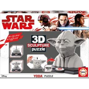 Educa - Puzzle 3D Rzeźba Yoda 16501