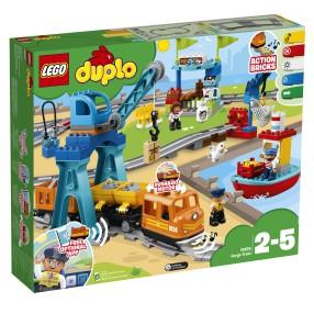 LEGO DUPLO Town - Pociąg towarowy 10875