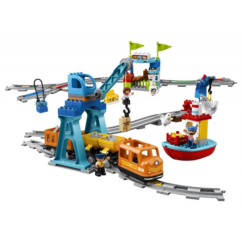 Lego Duplo Town Pociąg Towarowy 10875