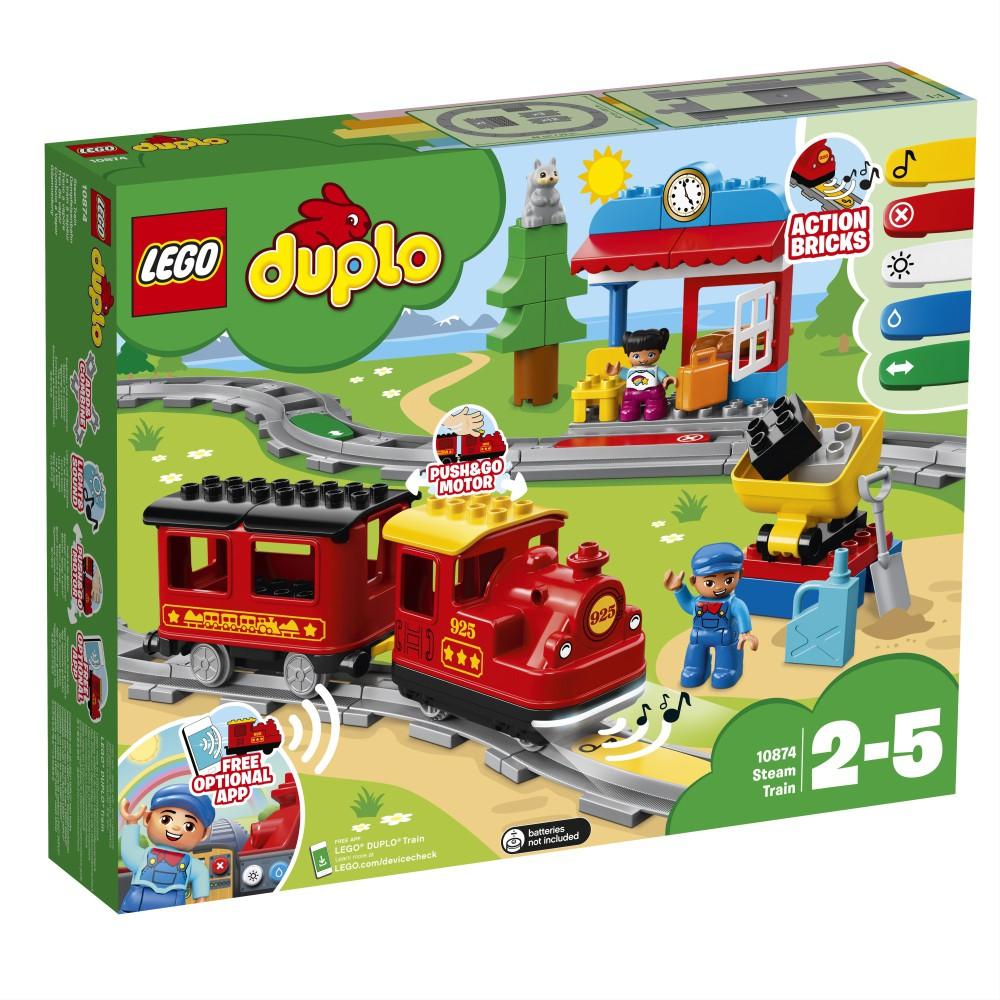 LEGO DUPLO Town - Pociąg parowy 10874