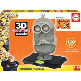 Educa - Puzzle 3D Rzeźba Minionek 17140