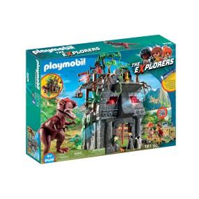 Playmobil - Obozowisko z T-Rexem 9429