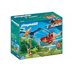Playmobil - Helikopter z Pterodaktylem 9430