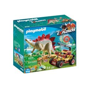 Playmobil - Pojazd badawczy ze Stegozaurem 9432