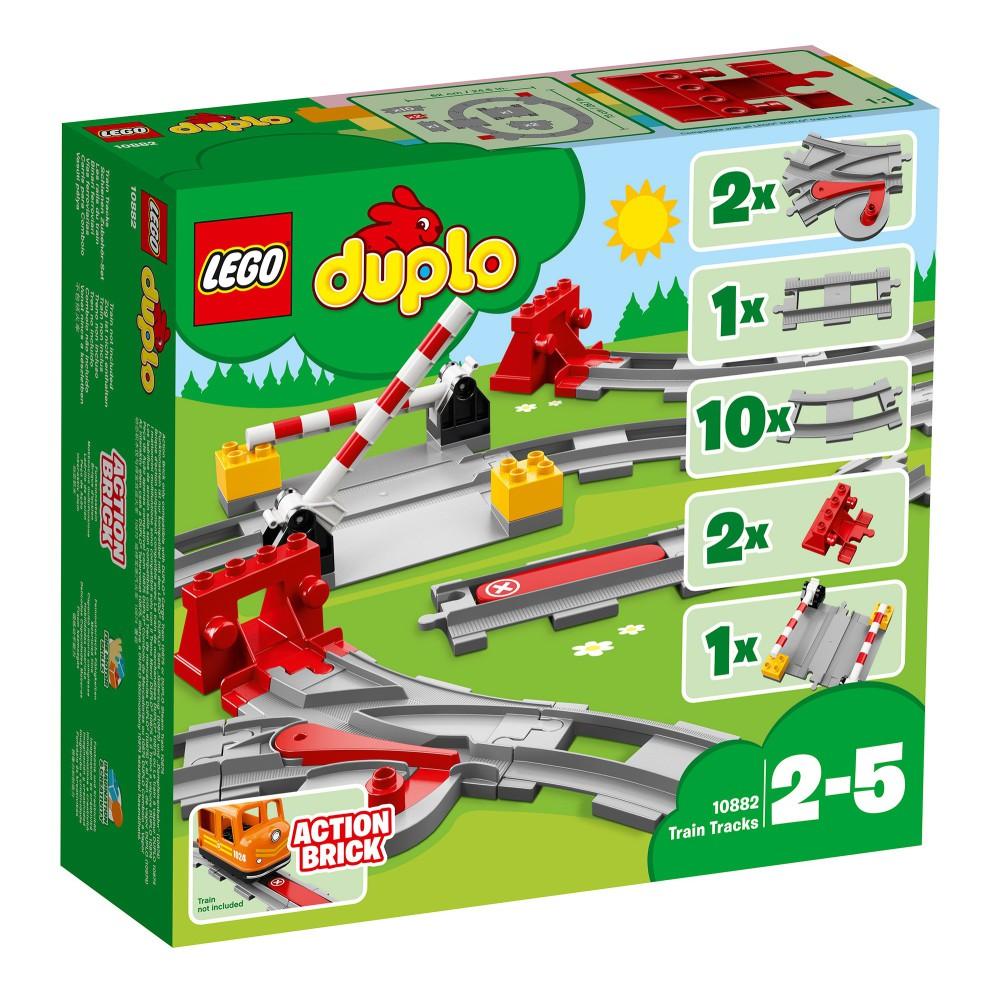LEGO DUPLO Town - Tory kolejowe 10882