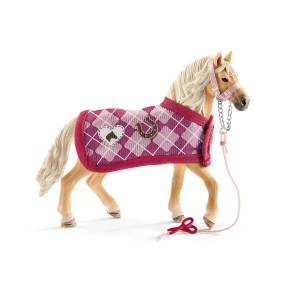 Schleich - Rasa Andaluzyjska Koń i zestaw modowy 42431
