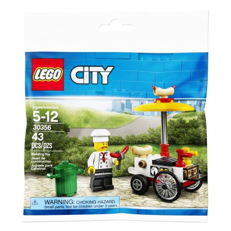 LEGO City - Budka z Hot-dogami 30356