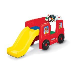 Little Tikes - Mini Plac zabaw ze zjeżdżalnią - Wóz strażacki 173776