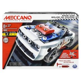 Meccano Klocki konstrukcyjne - Samochód wyścigowy 18207
