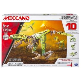 Meccano Klocki konstrukcyjne - Dinozaur multi zestaw 16209
