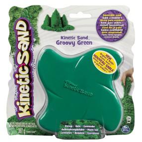 Kinetic Sand - Neonowy piasek 397g - Zielony w pudełku 20069488