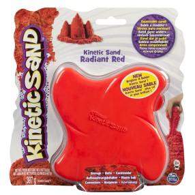 Kinetic Sand - Piasek 397g - Czerwony w pudełku 20070335