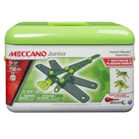 Meccano Junior Klocki konstrukcyjne - Owad multi zestaw z pudełkiem 16105