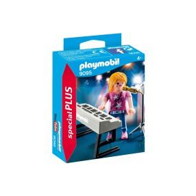 Playmobil - Piosenkarka z keybordem 9095