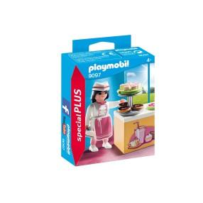 Playmobil - Pani cukiernik przy ladzie 9097