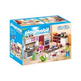 Playmobil - Duża rodzinna kuchnia 9269