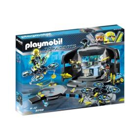 Playmobil - Centrum dowodzenia Dr Drone'a 9250