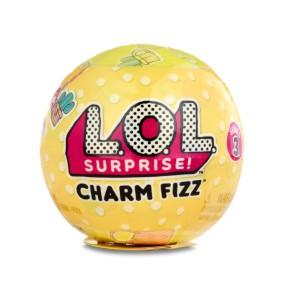 L.O.L. SURPRISE - Charm Fizz Musujące kule z niespodzianką Seria 3 550778