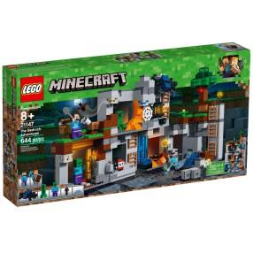 LEGO Minecraft - Przygody na skale macierzystej 21147