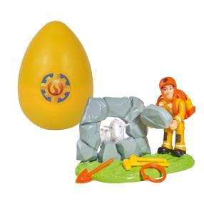 Simba - Strażak Sam Zestaw ratunkowy w jajku Sam z owieczką 9251028