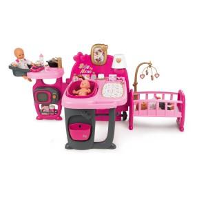 Smoby Baby Nurse - Duży domek dla lalek 220327