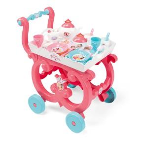 Smoby Księżniczki Disneya - Bajeczny wózek z zastawą i tacą 310572