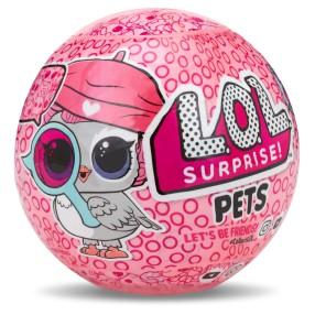 L.O.L. SURPRISE - Zwierzątko LOL w kuli niespodziance Seria Eye Spy 552109