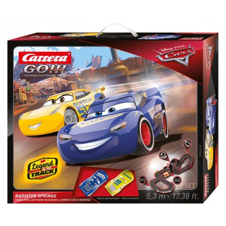 Carrera GO!!! - Disney Auta Cars - Radiator Springs 62446
