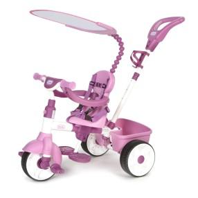 Little Tikes - Trójkołowy Rowerek 4w1 Różowy GUMOWE KOŁA 634307