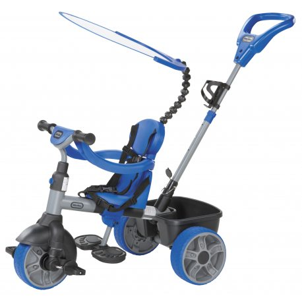Little Tikes - Trójkołowy Rowerek 4w1 Niebieski GUMOWE KOŁA 634314