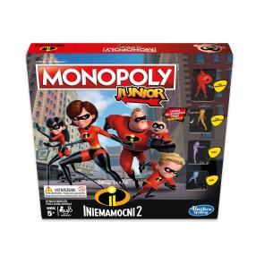 Hasbro - Gra Monopoly Junior Iniemamocni 2 E1781