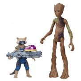Hasbro Marvel Avengers - Figurka filmowa Rocket and Groot 15 cm E2070