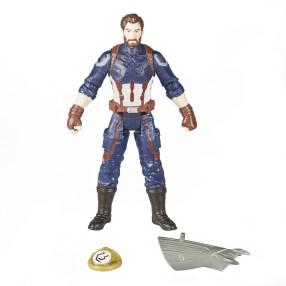Hasbro Marvel Avengers Infinity War - Figurka 15 cm Captain America z akcesoriami E1407