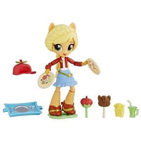 My Little Pony Equestria Girls Minis - Lalka Applejack i smaczne przekąski E2235