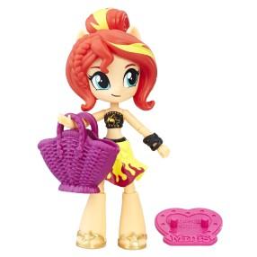 My Little Pony Equestria Girls Minis - Lalka plażowa Sunset Shimmer E0680