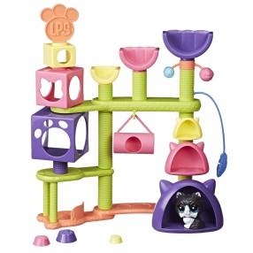Littlest Pet Shop - Koci plac zabaw z akcesoriami E2127