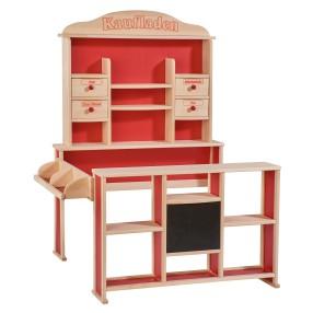Eichhorn - Drewniany Duży Sklep z ladą dla dzieci 2556