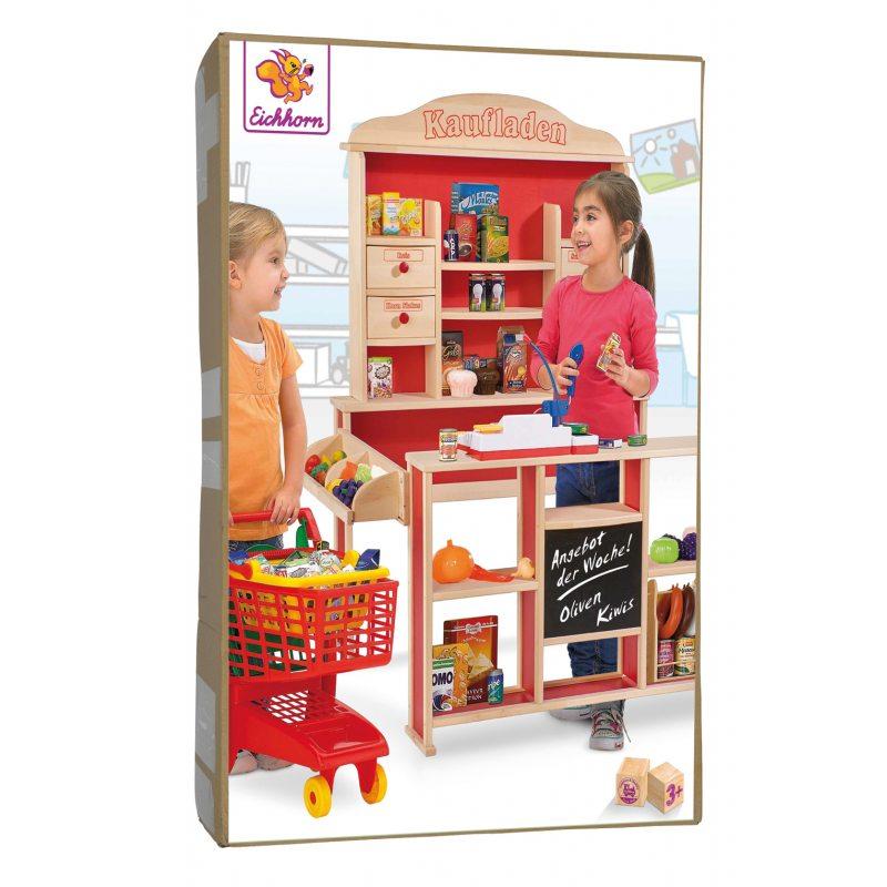 95c5620717cf81 Eichhorn - Drewniany Duży Sklep z ladą dla dzieci 2556