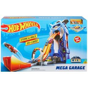 Hot Wheels City - Rajdowy garaż + Autko FTB68
