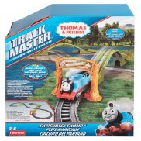 Fisher-Price Track Master - Zestaw do rozbudowy Bagienna Trasa DVF75