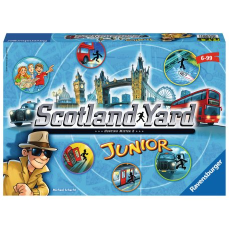 Ravensburger - Gra Scotland Yard Junior 211623