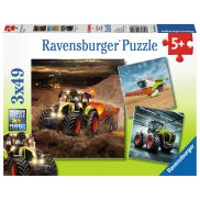Ravensburger - Pojazdy Rolnicze Axion, Lexion, Xerion 3x49 ele. 093014